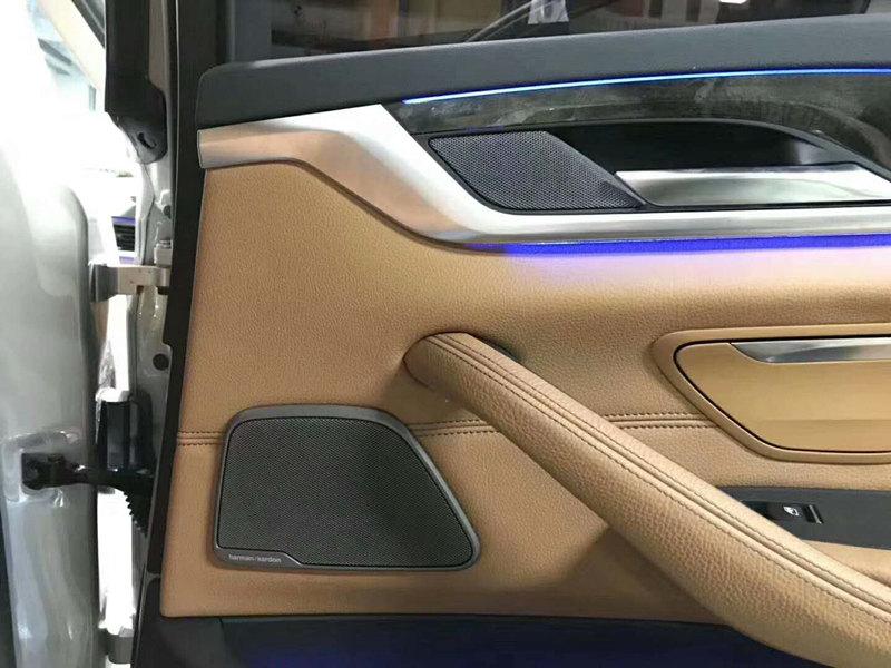宝马G38底盘新五系安装原厂哈曼卡顿音响