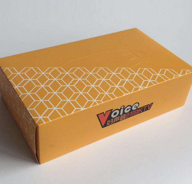 ktv盒装抽纸定制