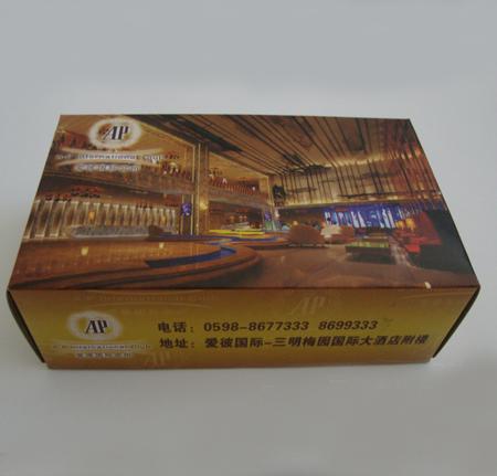 酒店盒抽定制批发