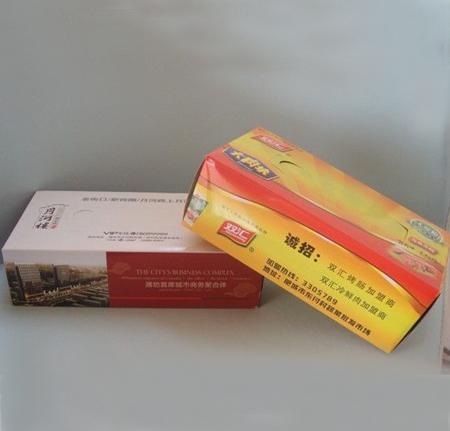 襄阳广告盒抽定制