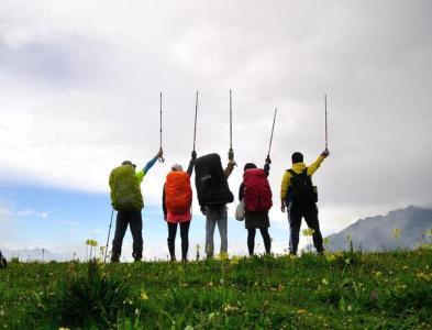 遵義徒步露營
