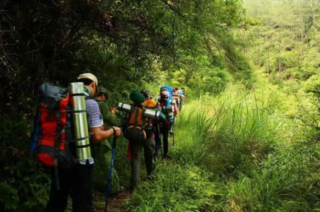 貴陽徒步露營