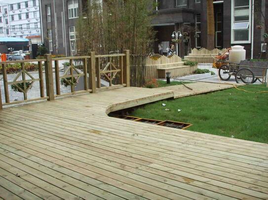 贵州防腐木地板