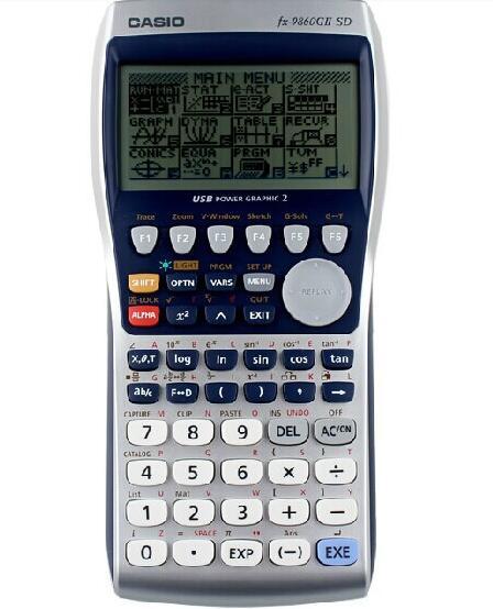 卡西欧fx-9860GII SD 工程测量计算器