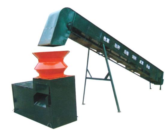 安阳YG-1000型牧草秸秆压块成型机