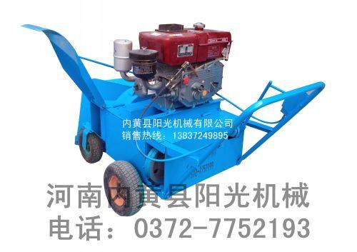 石家庄食用菌拌料  YG-90柴油机翻堆拌料机