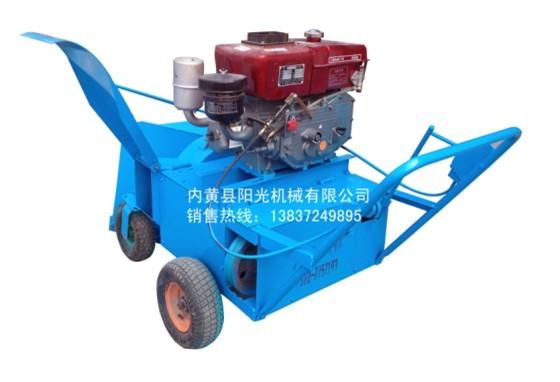 重庆YG-90型柴油机翻堆拌料机