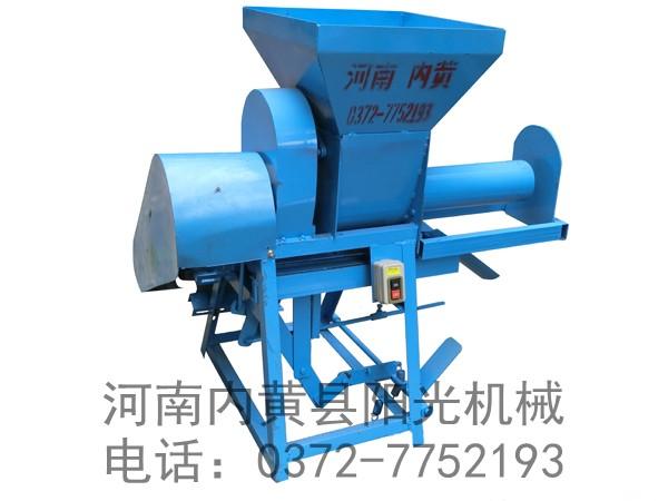 YG-B型自动推料螺旋装袋机