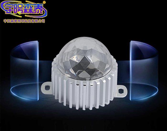 铝底水晶点光源