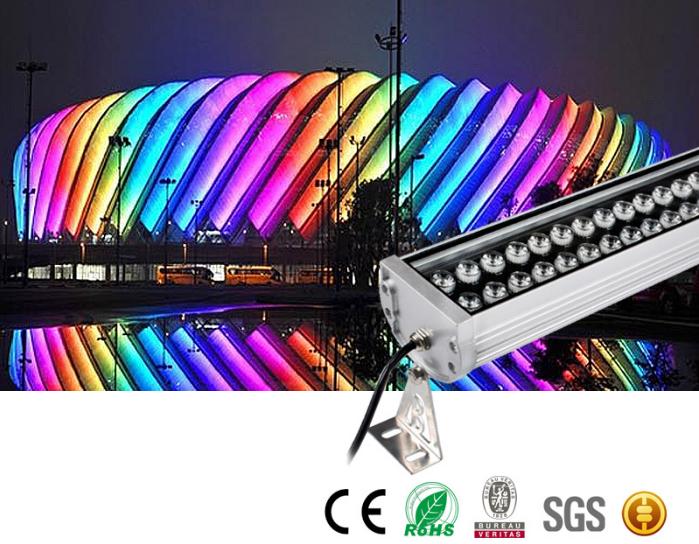 LED大功率铝洗墙灯