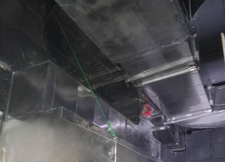 枣阳排烟管道工程案例