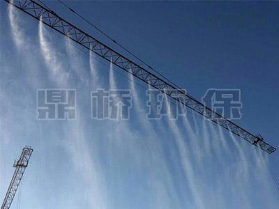 塔吊高空喷淋