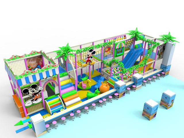 淘气堡室内游乐场