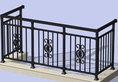 铁艺栏杆价格