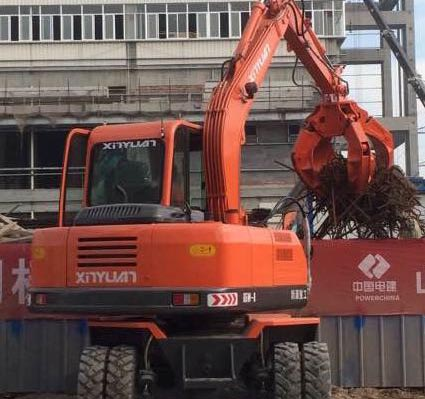 天津360度旋转挖掘机