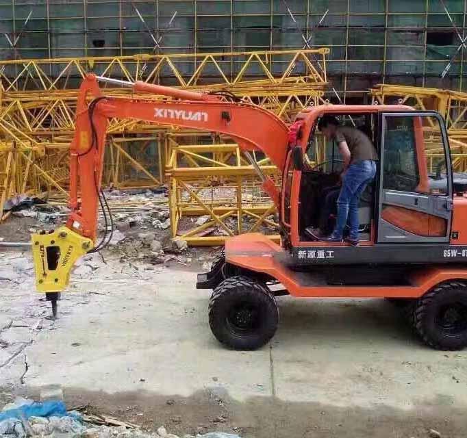 气刹挖掘机租赁