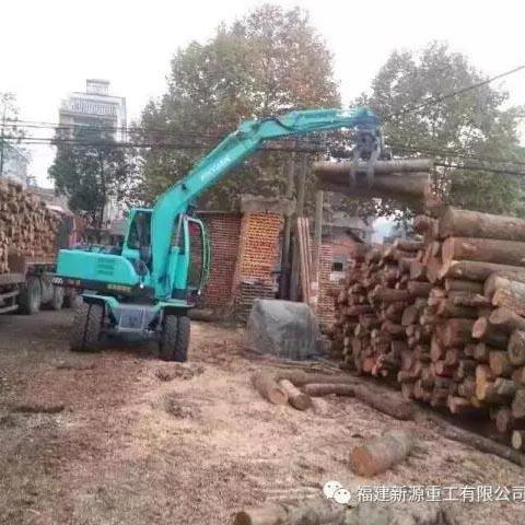 河北夹木器挖掘机