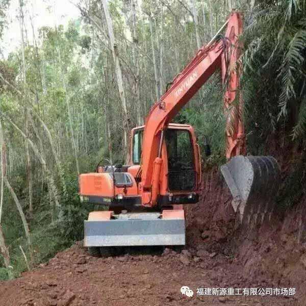 河北轮式挖掘机