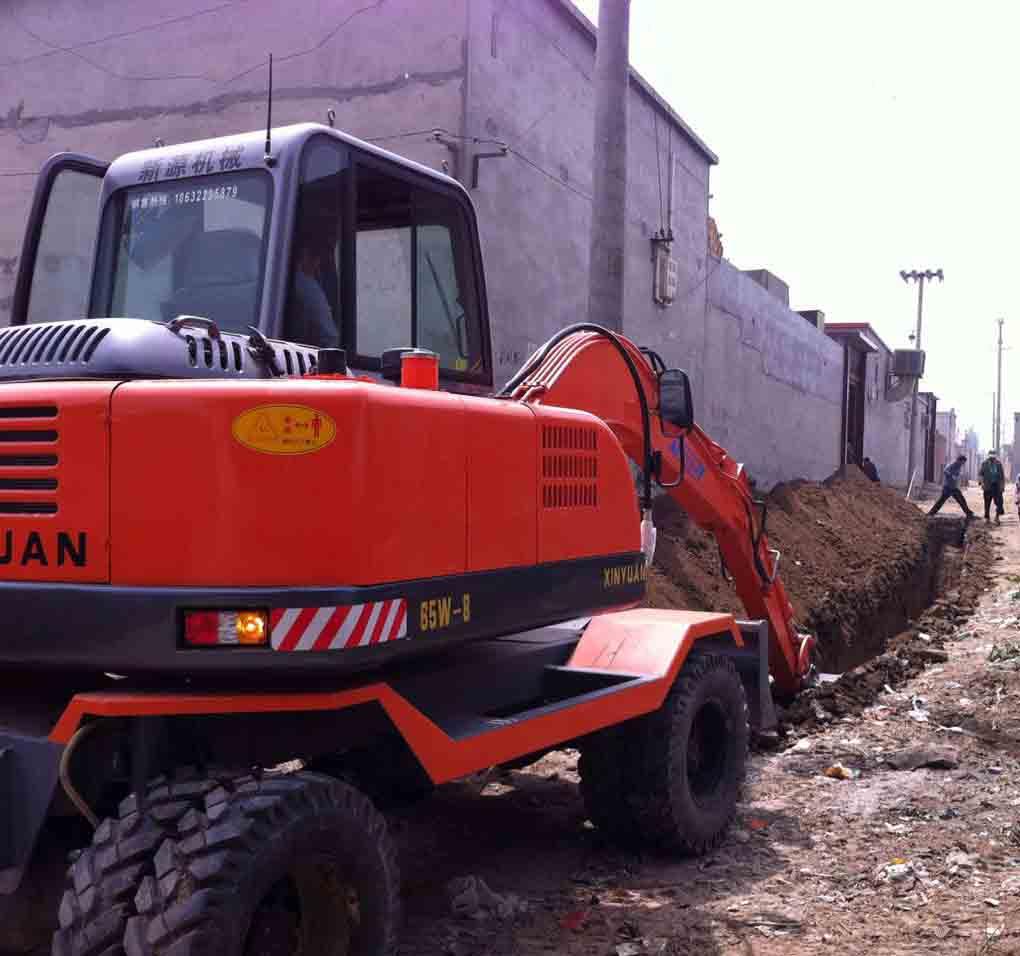 河北轮式挖掘机租赁