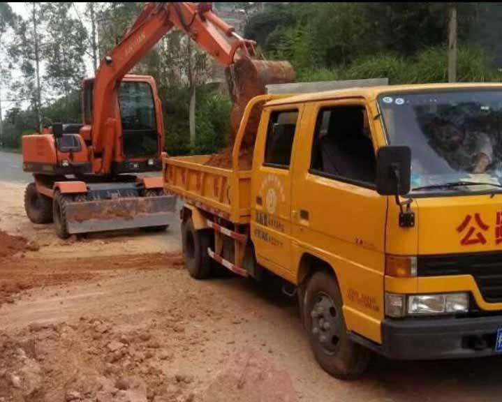 河北挖掘机