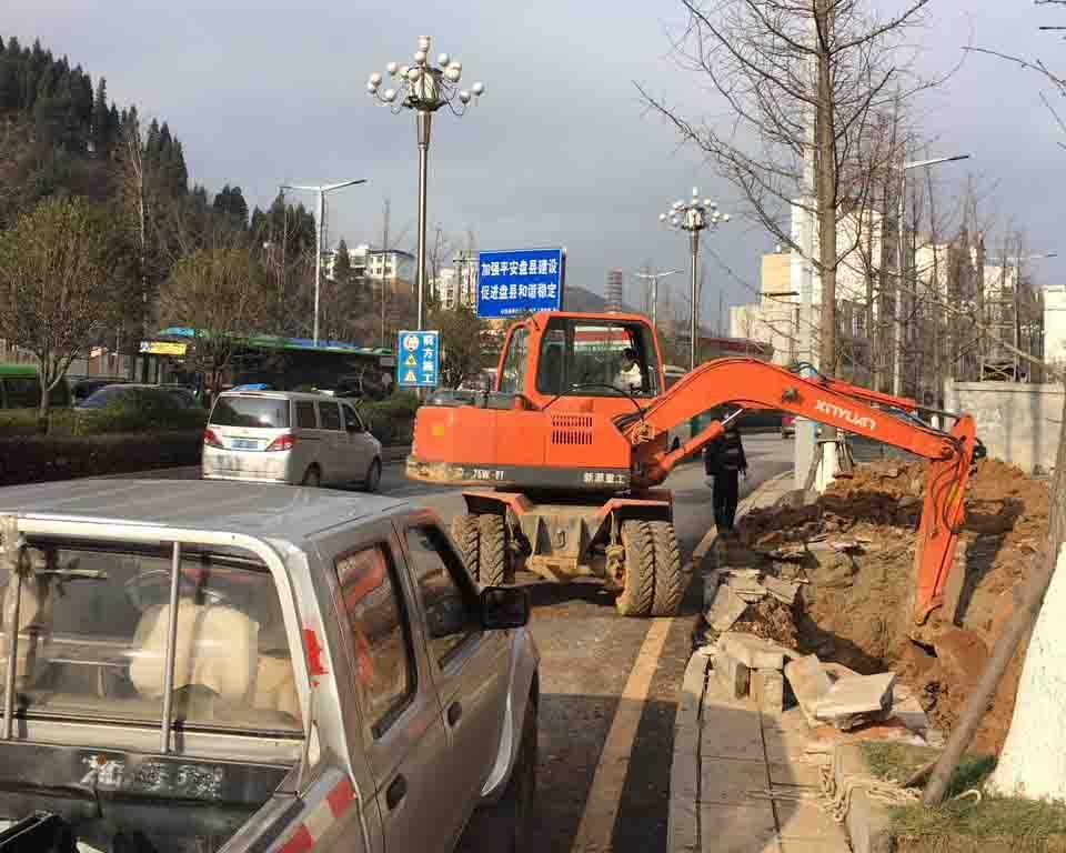 北京挖掘机