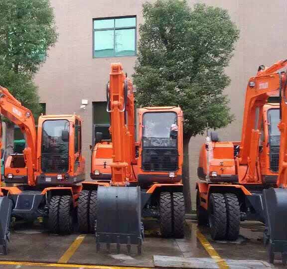 北京轮式挖掘机