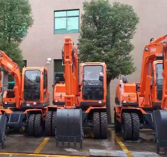 北京輪式挖掘機