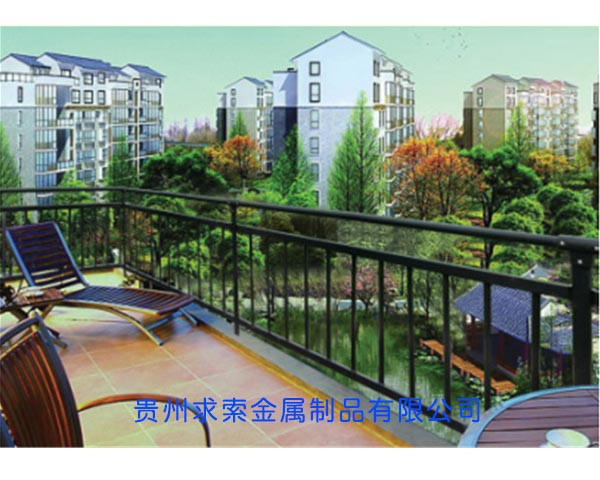 貴陽小區陽台護欄
