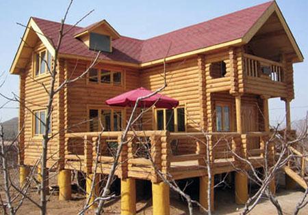 黄石木屋别墅