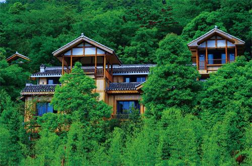 鄂州木屋别墅