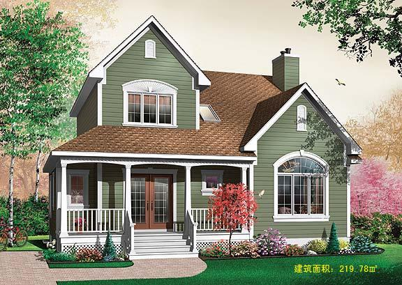 武汉木屋别墅天门木屋设计桁架和木梁是如何规定的 揭晓黄石防腐木木屋屋顶材质