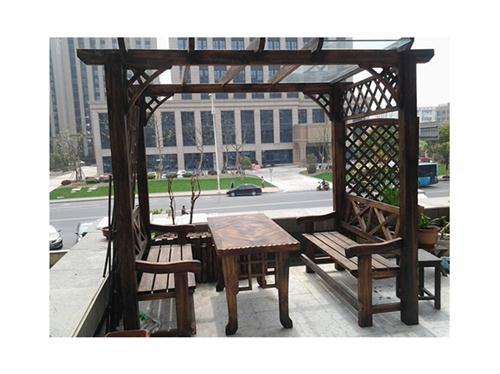 武汉防腐木回廊