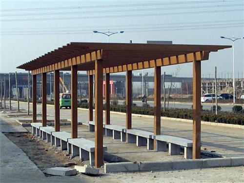 湖北防腐木回廊