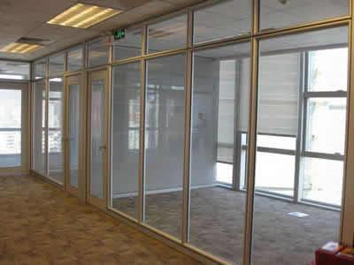 石家庄不锈钢玻璃隔断制作