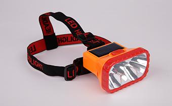 太阳能LED头灯