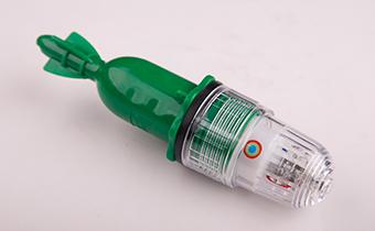 绿色短款五灯led网标灯
