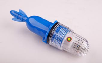 蓝色短款十灯led网标灯