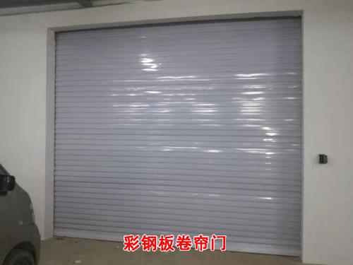石家庄彩钢板卷帘门