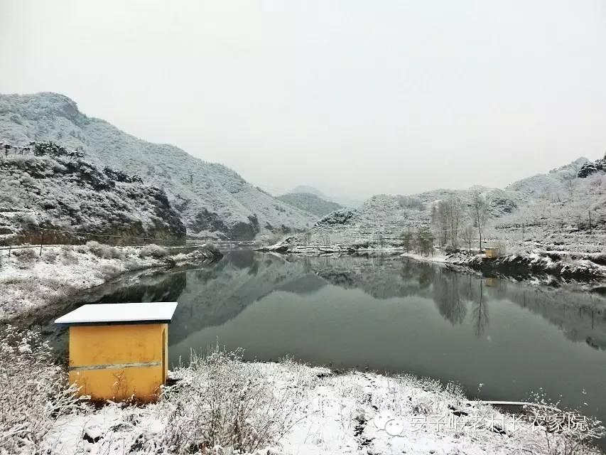 恒河源冬景