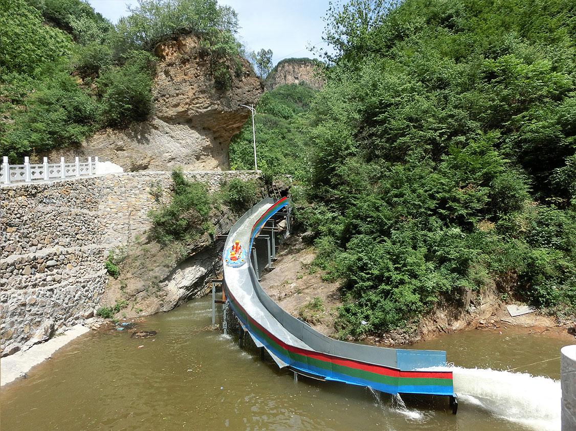 恒河源高山滑水
