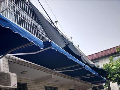 郑州电动天棚帘安装