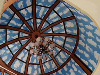 天棚蜂巢簾