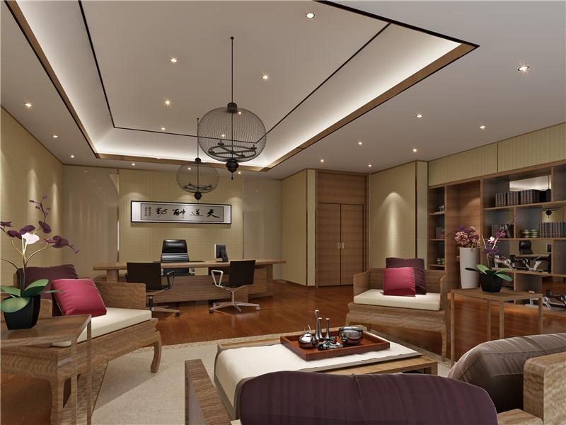 重庆璧山县办公室设计风水讲究 麦吉装饰 办公空间设计