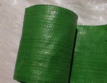 綠色編織帶