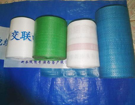 纏繞編織布