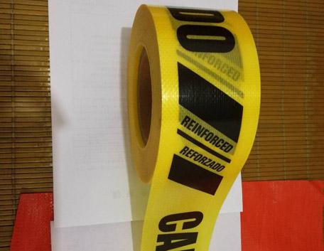 黄色警示带