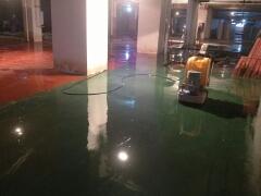 彩色固化耐磨地坪