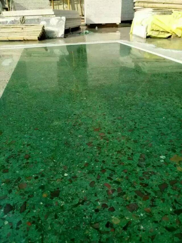 水磨石固化剂地坪