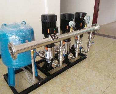 单泵变频供水设备