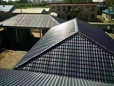 屋面聚酯纤维瓦
